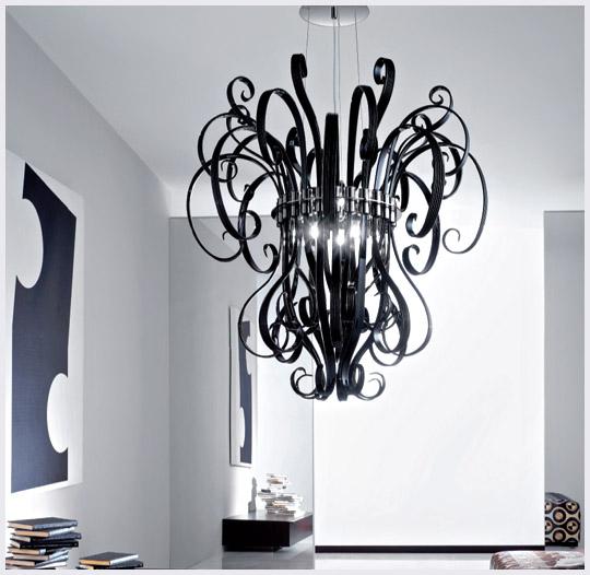 black modern chandeliers. Enter Black Modern Chandeliers