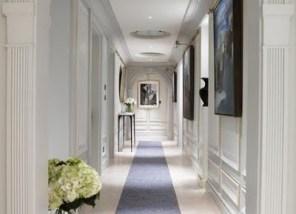 blue accents interior design