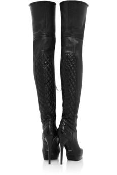thigh high boots trend