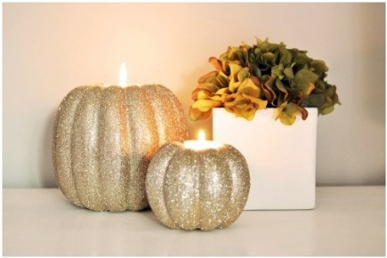golden pumpkins