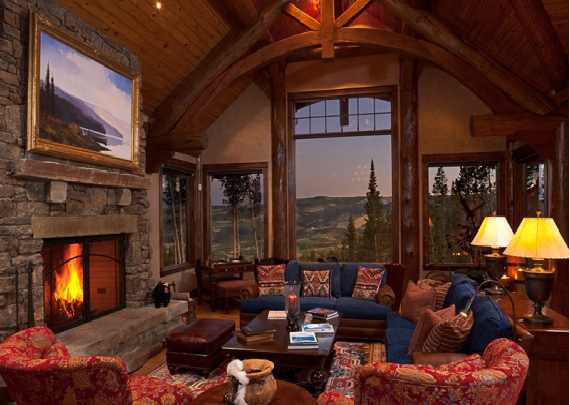 ralph lauren interior design telluride ranch yellowstone club