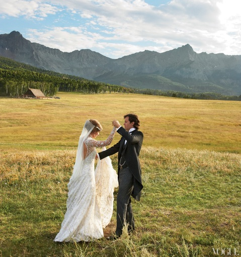 formal western style wedding