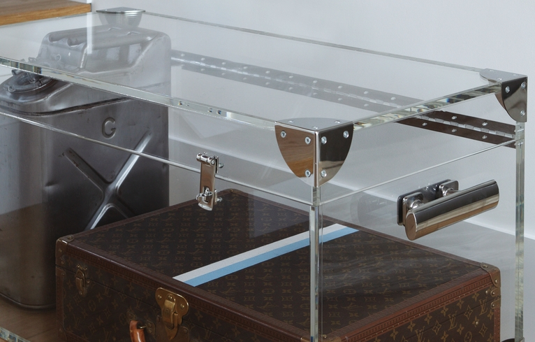 They also sell the most gorgeous modern lucite ghost trunks