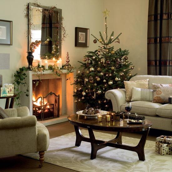 Where To Put The Christmas Tree christmas tree decorating ideas | style theories