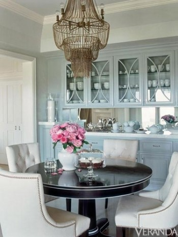 light blue kitchen paint