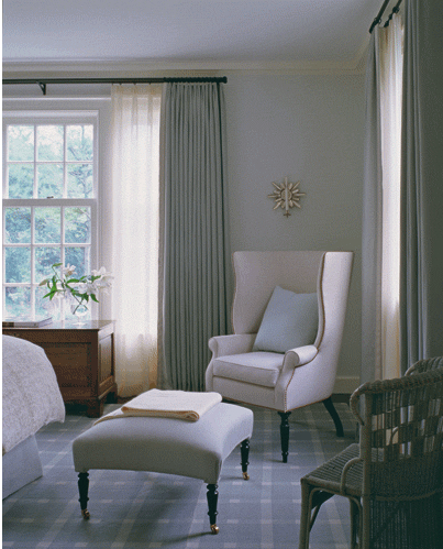 28 Sea Foam Green Bedroom Interior Black Pillow